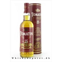 Tomatin 25 år 43% 70 cl.