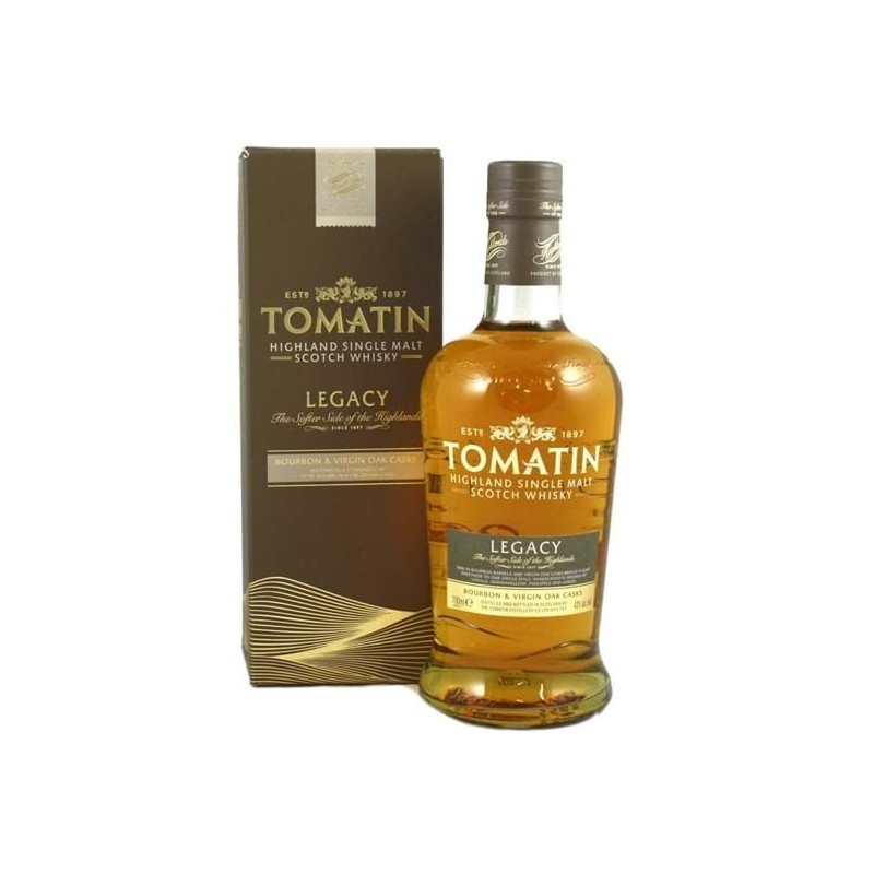 Tomatin Legacy Highland Single Malt.