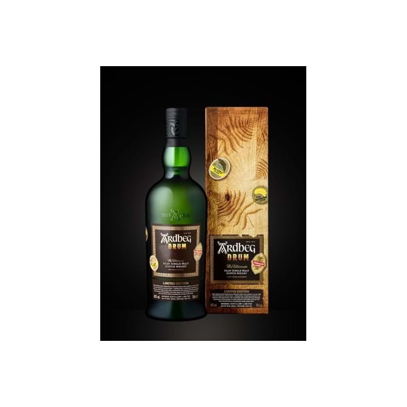 Ardbeg Drum 46,0% Single Malt Whisky fra Islay. Release Ardbeg Day 2019