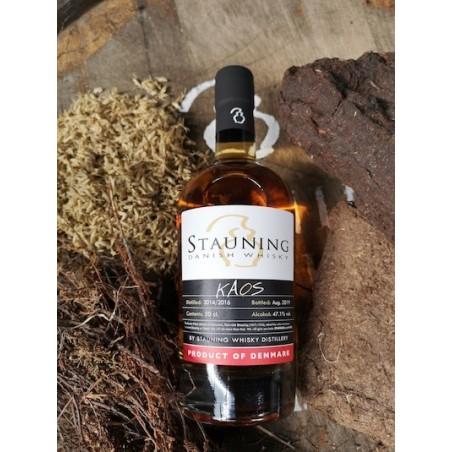 Stauning Kaos Whisky, en smule røg, masser af spice, sødme og dybde.