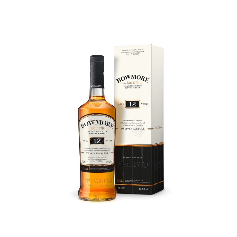 Bowmore 12 år Single malt 40%