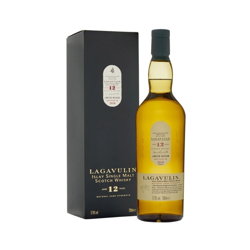 Lagavulin 12 år Ltd. Release 2018 Single Malt 57,8% 70 cl.