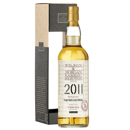 Caol Ila 2011 Wilson & Morgan 1St Fill Bourbon Barrel 46% 70 cl.