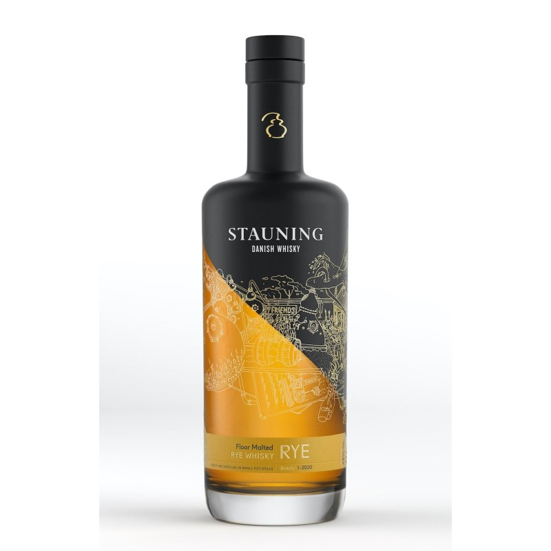 Stauning Rye Whisky 2020 70cl.
