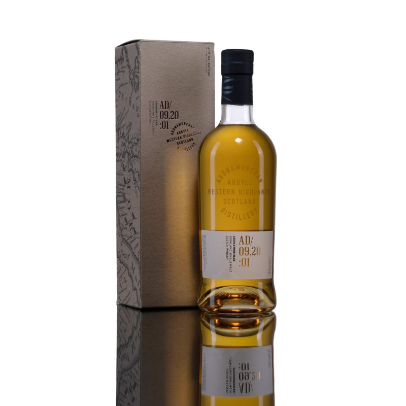 Single Malt Whisky - Ardnamurchan Batch 1. - 46,8%