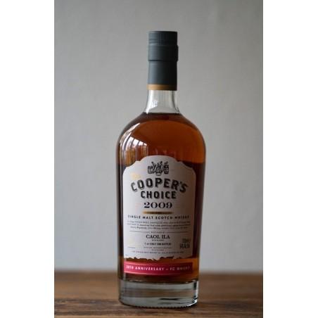 Caol Ila 2009 Coopers Choice Single Islay Malt 54% FC Whisky 20 års jubilæum.