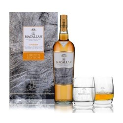 Macallan Amber Highland Single Malt 40% m/2 glas