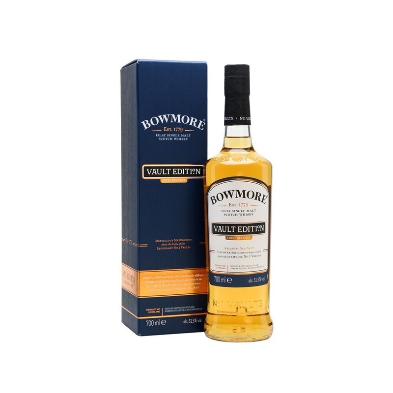Bowmore Vault Edition No.1 Islay 51,1% - Whisky Depotet Vejle