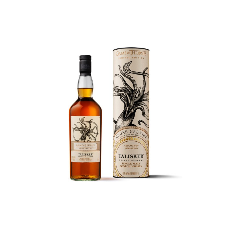 Talisker Select Reserve - Limited Edition Game of Thrones House Greyjoy