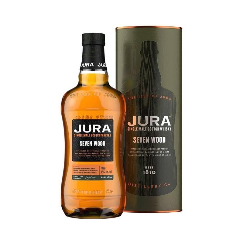Isle of Jura Seven Wood Single Malt Scotch 42%