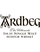 Ardbeg Distillery - Single Malt Whisky, Islay Skotland.
