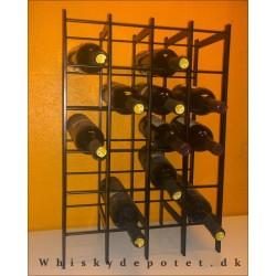 Vinreol til 20 flasker