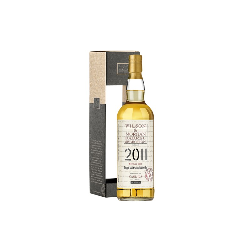 Caol Ila 2011 Wilson & Morgan 1St Fill Bourbon Barrel 46% 70 cl.