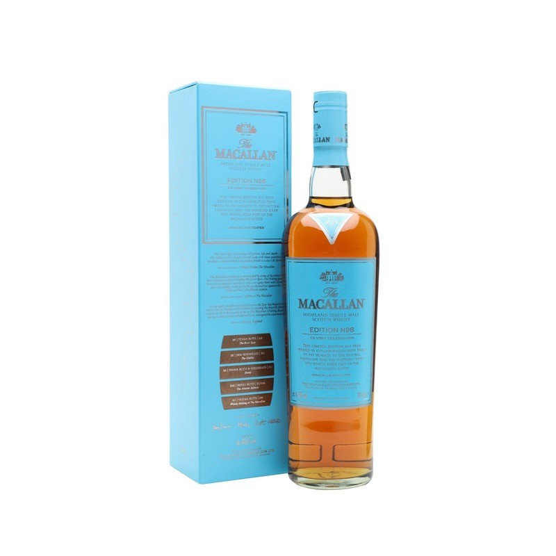 Macallan Edition No.6 Speyside Single Malt Whisky 48,6%