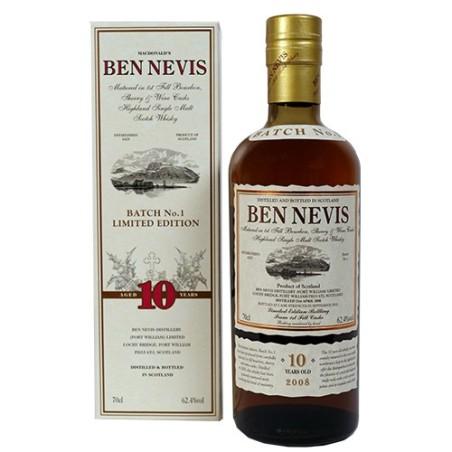 En fantatastisk Ben Nevis 10 årig 1ST BATCH Highland Single Malt Whisky