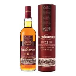 GlenDronach Original 12 år Sherried single malt.
