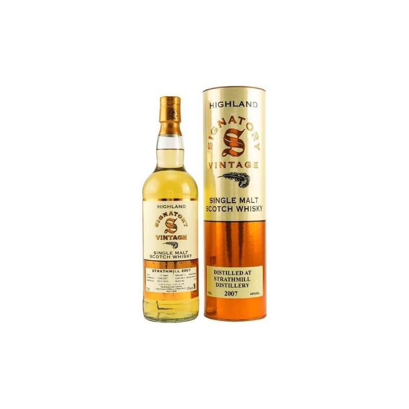 Signatory Strathmill 11 år Single Malt Whisky 43% HogsHead