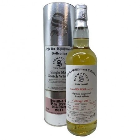 Signatory - Ben Nevis 2011 - 10 år - lækker bourbon - Western Highland - 46%