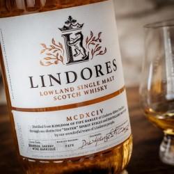 Lindores Lowland Single Malt Scotch Whisky genåbner historiebøgerne med denne whisky
