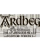 Ardbeg Distillery - Single Malt Whisky, Islay Skotland.